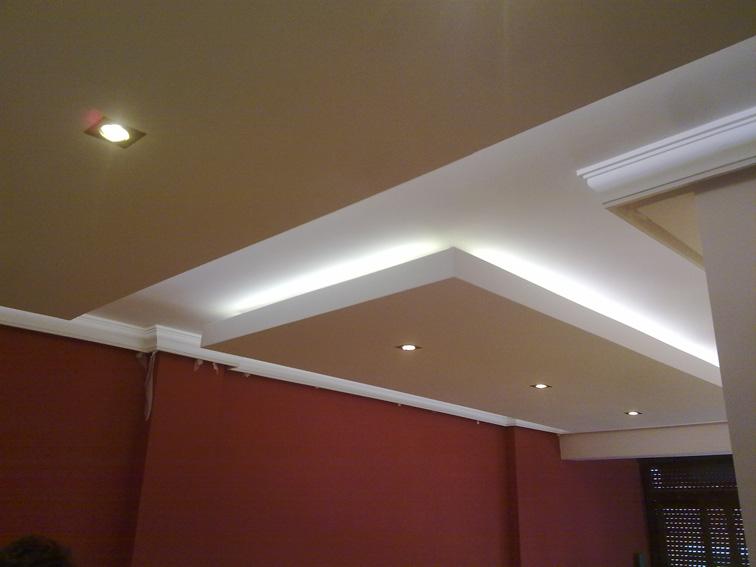 Pladur terrassa disseny i reformes t3 - Iluminacion techo ...