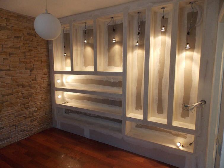 Pladur terrassa disseny i reformes t3 for Muebles de pladur para salon
